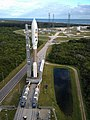 Mars Science Laboratory Atlas V rocket AV-028 rollout to SLC-41.jpg