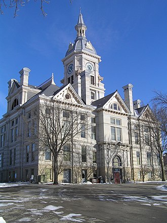 Marshall County, Iowa - Image: Marshall County Courthouse DH