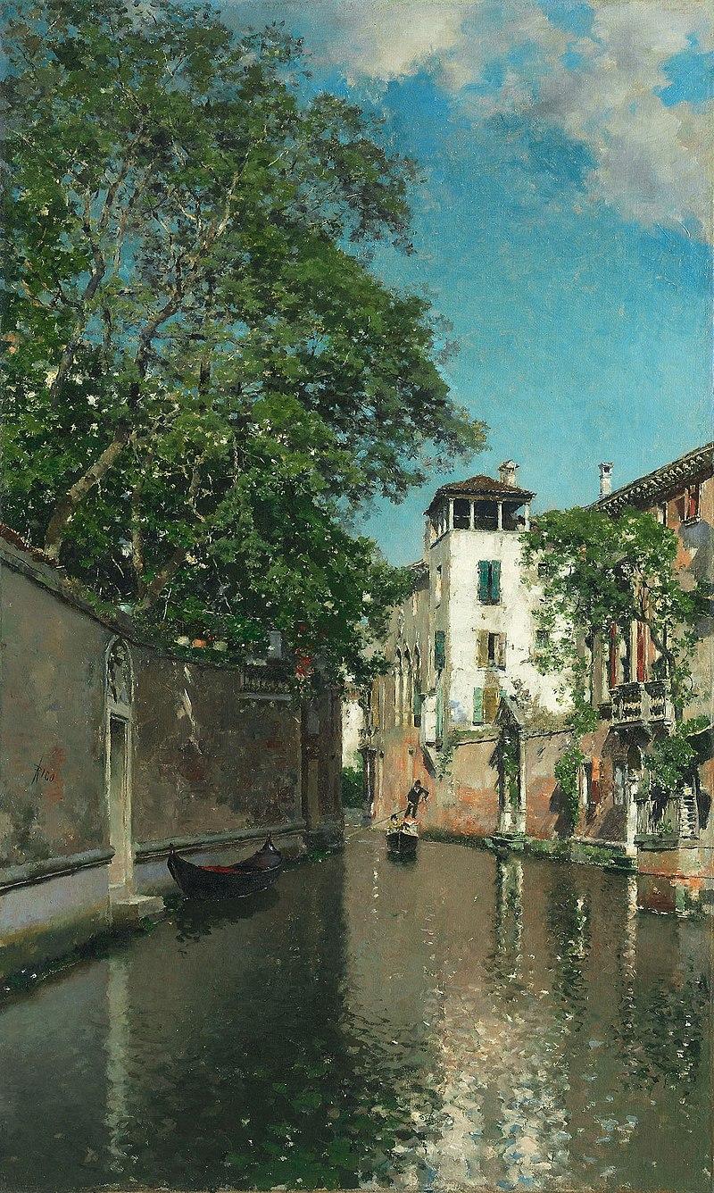 Мартин Рико и Ортега - Канал в Венеции - 1973.766 - Институт искусств Chicago.jpg
