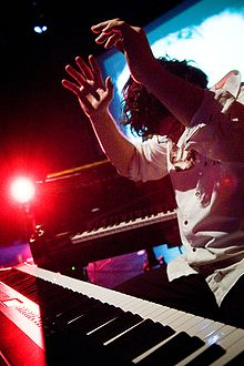 Martin Ferron en tournée (2010)
