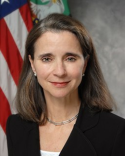 Mary J. Miller former American Under Secretary for Domestic Finance