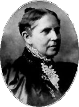 Mary Stafford Anthony - Portrait of Mary S. Anthony from The History of Woman Suffrage