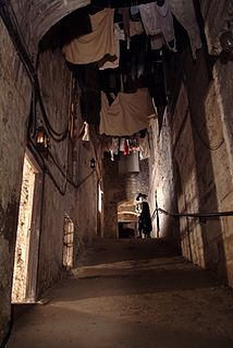 Mary Kings Close Underground streets and tourist attraction