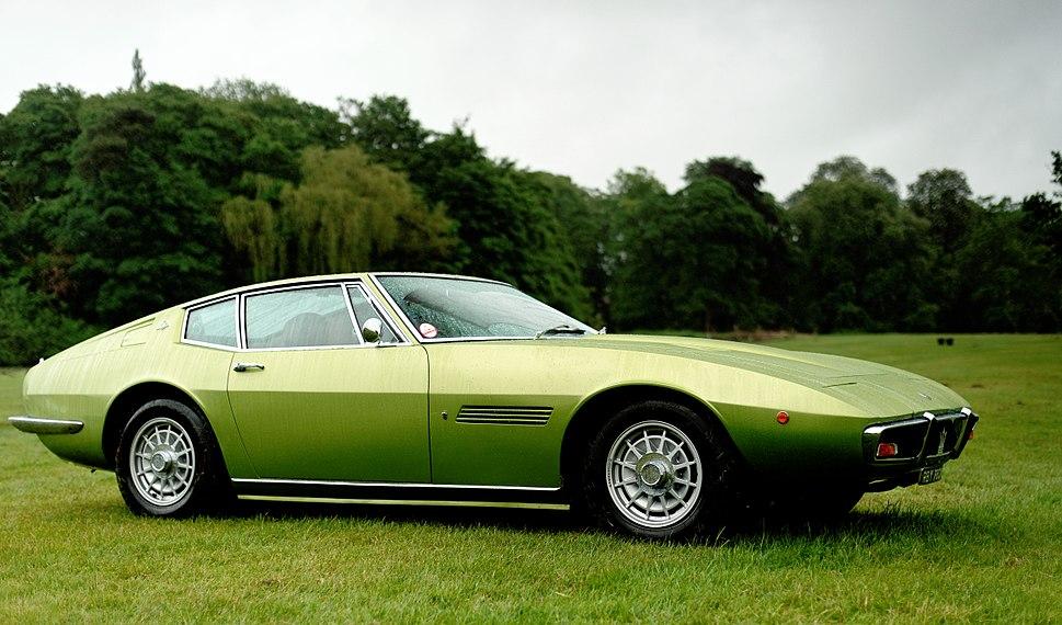 Maserati Ghibli green