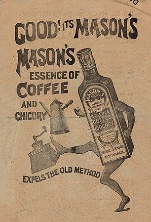306px Mason s essence of coffee and chicory advert