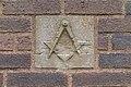 Masonic insignia, St Michael's Church, Blundellsands.jpg