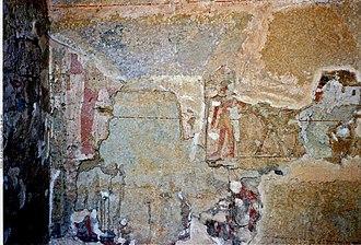 Isesi-ankh - Image: Mastaba Isesi ankh painting