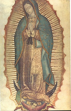 Huei tlamahuiçoltica - Our Lady of Guadalupe.