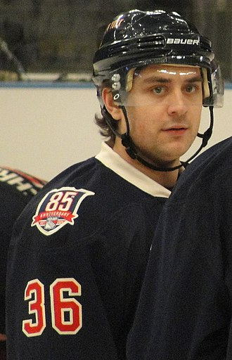Mats Zuccarello - Zuccarello with the Rangers, February 2011.