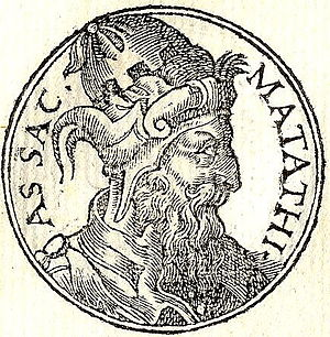 English: Mattathias was a Jewish priest whose ...