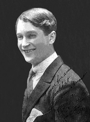 Maurice Chevalier - Chevalier in 1920