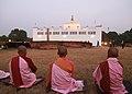 Maya Devi Temple with Monks.jpg