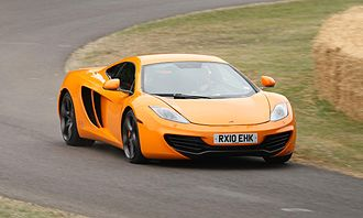 Goodwood Festival of Speed - McLaren MP4-12C at the 2010 Festival of Speed