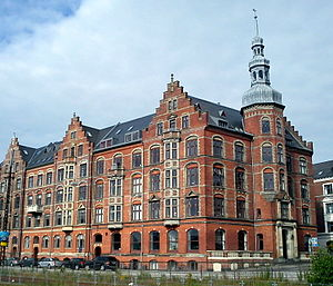 Nørre Stenbro - Mejlborg, an apartment complex built in 1896-98.