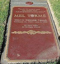 Mel Torme grave at Westwood Village Memorial Park Cemetery in Brentwood, California.JPG