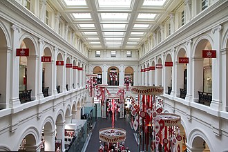 General Post Office, Melbourne - Interior—the former postal hall in 2007