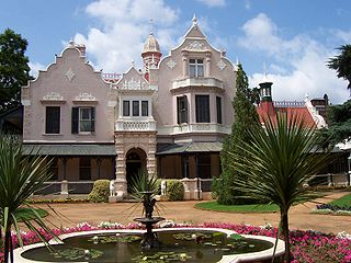 Melrose House building in South Africa