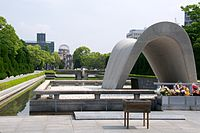 Memorial Cenotaph, Hiroshima Peace Memorial Park (7170064476) (2).jpg