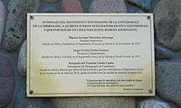 Memorial DDHH Chile Placa Universidad de La Serena.jpg