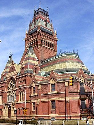 William Robert Ware - Memorial Hall (Harvard University)