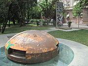 Memorial to Communist Isolation in Tirana.JPG