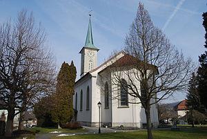 Menziken - Protestant Church of Menziken