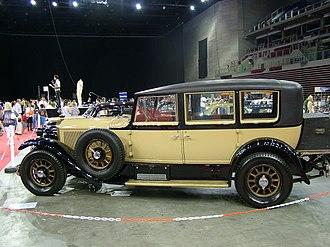 Mercedes 24/100/140 PS - Mercedes-Benz 24/100/140 PS (1927)