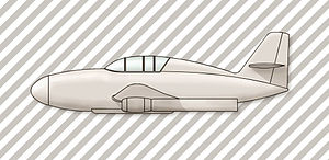 Messerschmitt Me 328 - Image: Messerschmitt Me 328 sketch