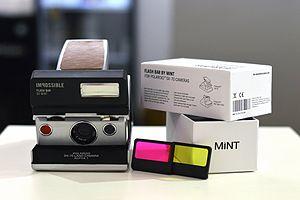 MiNT camera - Image: Mi NT Flash Bar
