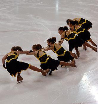 Miami University Synchronized Skating Team - The Miami University junior varsity team