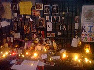 Michael Jackson tribute in Trafalgar Square DSC01957.JPG
