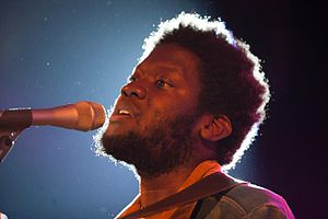 Michael Kiwanuka - Performing at the 2012 Montreux Jazz Festival