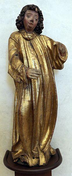 File:Michael pacher (cerchia), angelo, 1475-1500 ca, da castelfondo.jpg