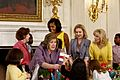 Michelle Obama and Dr. Jill Biden at a Joining Forces Mother's Day event, 2012.jpg