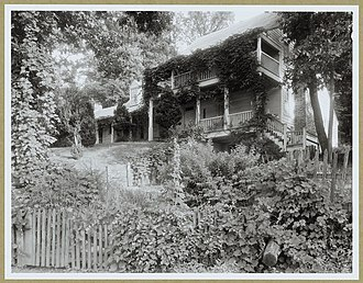 Michie Tavern - Image: Michie Tavern by Frances Benjamin Johnston 1933