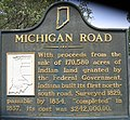 Michigan Road historical marker near Zionsville.jpg