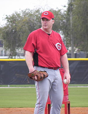 Mike Stanton (left-handed pitcher) - Stanton during Spring training in 2008