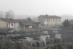 Cavriano e il complesso dell'omonima cascina.