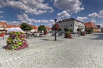 Milicz - Main square