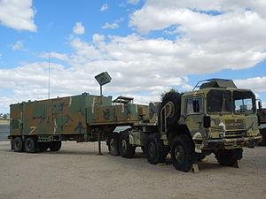 Military Vehicle at Pima Air & Space Museum.JPG