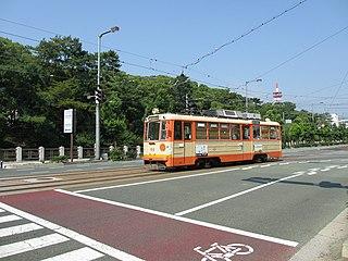 Jōnan Line Light rail line in Matsuyama, Ehime