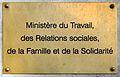 Ministère du Travail sign 2009.jpg