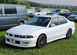 Mitsubishi Galant VR-4 mfd 1998 but registered UK March 2015 2490cc.jpg