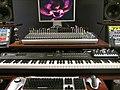 Mixer, Nocturn, QS-8, and computer stuff @ Sarlacc Studios.jpg