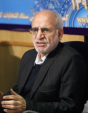 Mohammad-Hossein Moghimi - Image: Mohammad Hossein Moghimi press conf