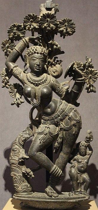 Mohiniyattam - Mythical Mohini.