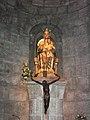 Monasterio de Leyre, virgen de Leyre.JPG