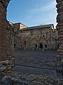 Monasterio de Santa María de Carracedo (Carracedo del Monasterio). Claustro.jpg