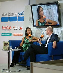 Monica Ali Frankfurter Buchmesse 2009.jpg