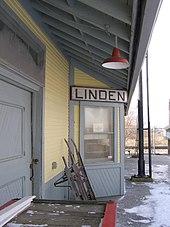 Monon Múzeum Linden Indiana Station.jpg